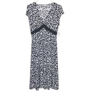 (2for20) London Times Butterfly Stretch Dress